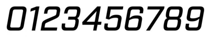 Industry Medium Italic Font OTHER CHARS
