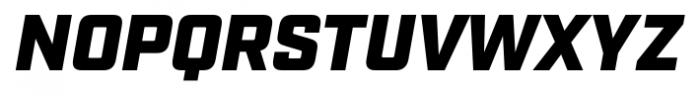 Industry Ultra Italic Font UPPERCASE