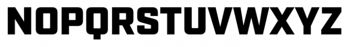 Industry Ultra Font UPPERCASE