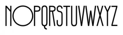 Infantometric Pro Regular Font UPPERCASE
