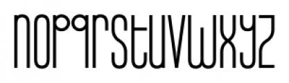 Infantometric Pro Regular Font LOWERCASE