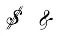 IntellectaMixedScript2 Regular Font OTHER CHARS