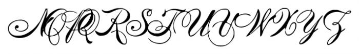 IntellectaMixedScript2 Regular Font UPPERCASE