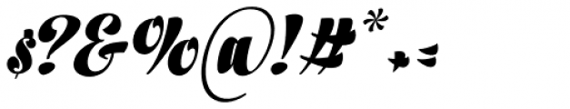 In And Out Black Italic Font OTHER CHARS