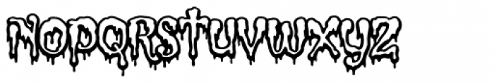 Incy Wincy Spider Web Font LOWERCASE
