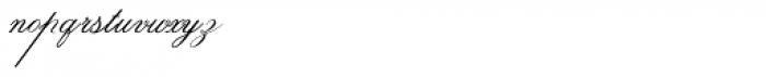 Indenture English Penman Font LOWERCASE
