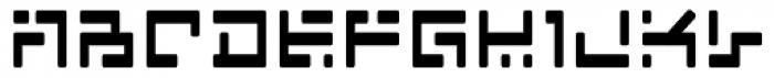 India Echo Font LOWERCASE