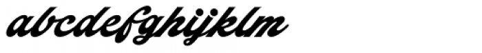Indiana Script Font LOWERCASE