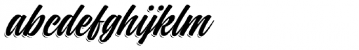 Indie Shade Font LOWERCASE