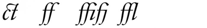 Indigo D Italic Alternate Font LOWERCASE