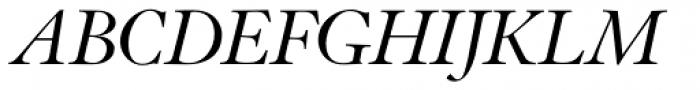 Indigo P Italic Font UPPERCASE