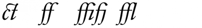 Indigo T Italic Alternate Font LOWERCASE