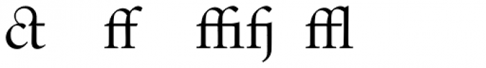 Indigo T Regular Alternate Font LOWERCASE