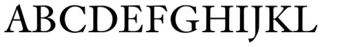 Indigo T Regular Oldstyle Figures Font UPPERCASE