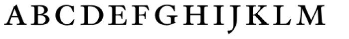 Indigo T Regular Small Caps Font LOWERCASE