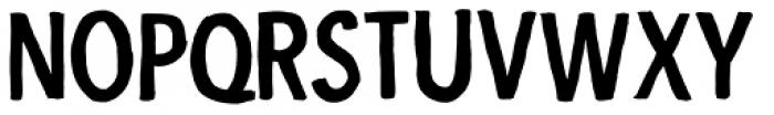 Indikation Black Font LOWERCASE