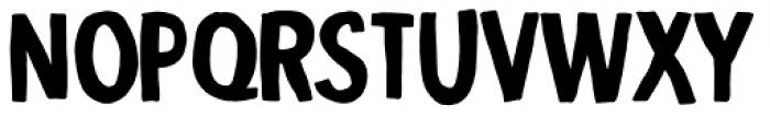 Indikation Fat Font UPPERCASE