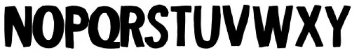 Indikation Fat Font LOWERCASE