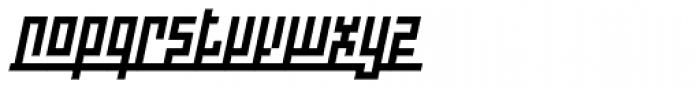 Indoo BT Italic Font LOWERCASE