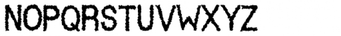 Indu Xtrial Alternate Font LOWERCASE