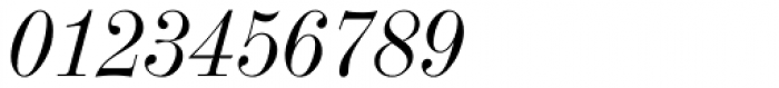 Industrial 736 Italic Font OTHER CHARS
