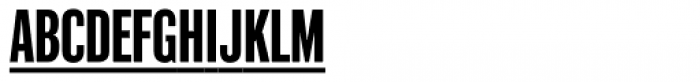 Industrial Gothic Pro Single Line Font LOWERCASE