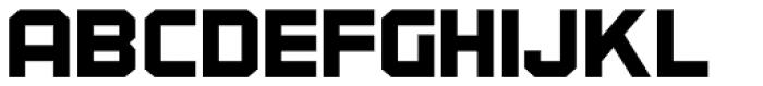 Industrialist JNL Font LOWERCASE