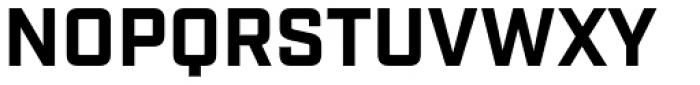 Industry Bold Font UPPERCASE