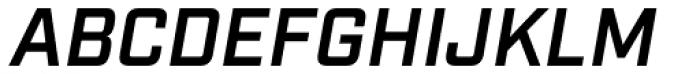Industry Demi Italic Font UPPERCASE