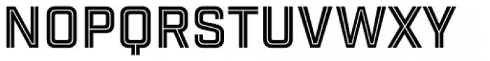 Industry Inc Cutline Font UPPERCASE
