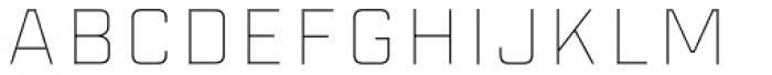 Industry Inc Inline Stroke Font LOWERCASE