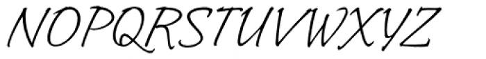 Indy Italic Std Regular Font UPPERCASE
