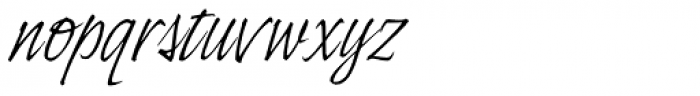 Indy Italic Std Regular Font LOWERCASE