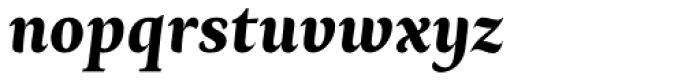 Ines Bold Italic Font LOWERCASE