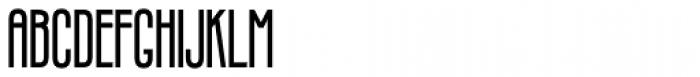 Infantometric Pro Bold Font UPPERCASE