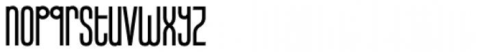 Infantometric Pro Bold Font LOWERCASE