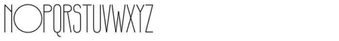 Infantometric Pro Light Font UPPERCASE
