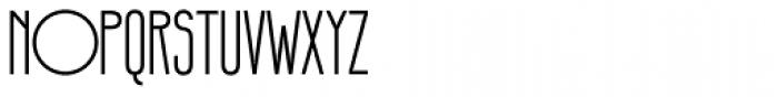 Infantometric Pro Font UPPERCASE