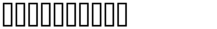 Infantry SRF Font OTHER CHARS