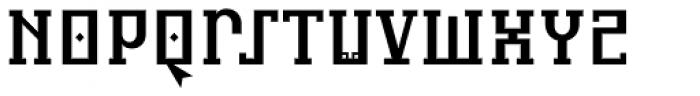 Infidel A Font UPPERCASE