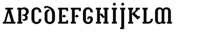 Infidel C Font LOWERCASE