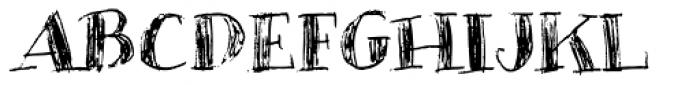 Infilto Font UPPERCASE