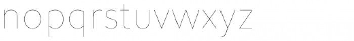 Infoma Line Font LOWERCASE
