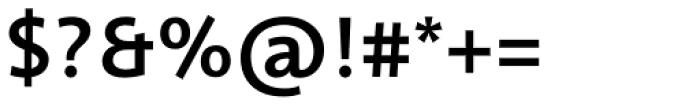 Informa Pro Medium Font OTHER CHARS