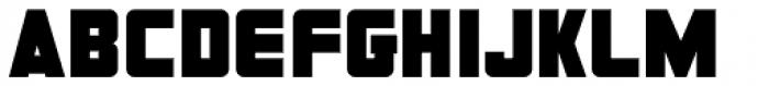 Informational Sign JNL Font UPPERCASE