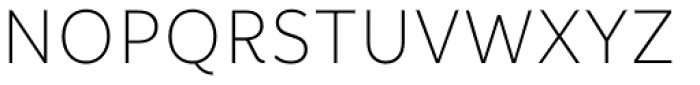 Informative Light Font UPPERCASE