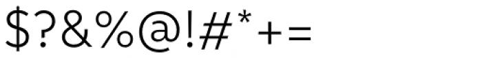 Informative Regular Font OTHER CHARS