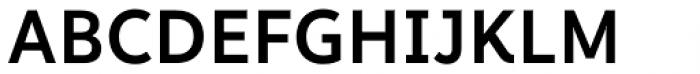 Informative Semi Bold Font UPPERCASE