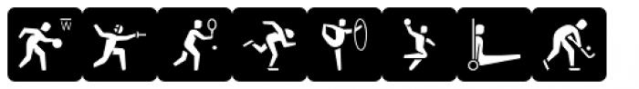 Informative Sports Black Font UPPERCASE