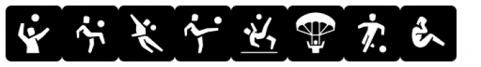 Informative Sports Black Font LOWERCASE